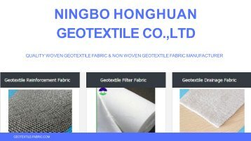 Buy Geotextile Filter Fabric in Affordable Rates