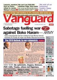 01012019 - Sabotage fueling war against Boko Haram - ARMY