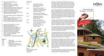 Naturerlebnistag 19. August 12-18 Uhr - Herzogtum direkt