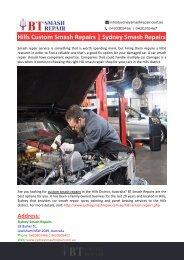 Hills District Smash Repairs-Sydney Smash Repairs