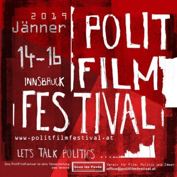 Polit Film Festival programme