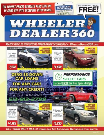 Wheeler Dealer 360 Issue 01, 2018