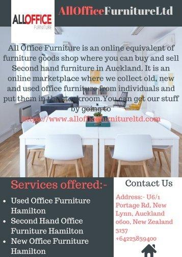 Used Office Furniture Hamilton