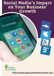 Find The Positive Impact of Social Media Trends On business