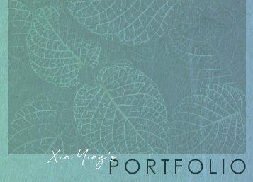 Xin Ying's Portfolio 2019