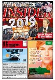 INSIDER Osnabrück // Januar 2019 // No. 426