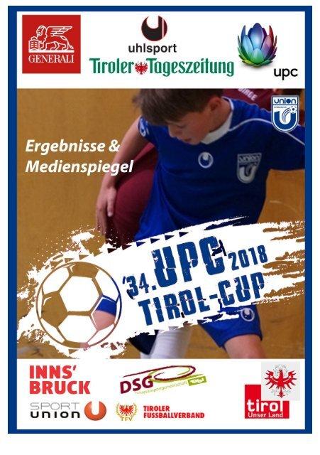 34. UPC Tirol int. Nachwuchscup, Ergebnisse
