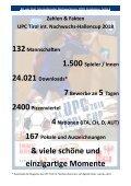 34. UPC Tirol int. Nachwuchscup, Ergebnisse - Seite 6