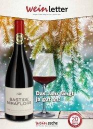 Weinzeche Weinletter 1_2019 – Die Kunst des Genießens