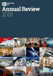 Maritime UK 2018 Annual Review
