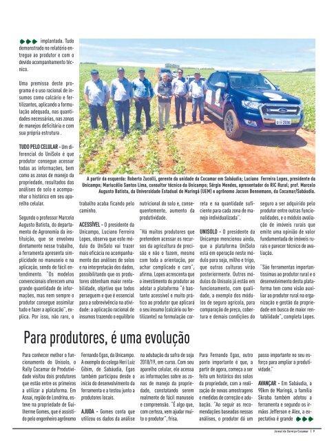 Jornal Cocamar Janeiro 2019