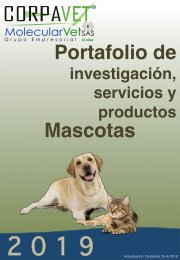 PORTAFOLIO DE SERVICIOS MASCOTAS 2019  28-12-2018w