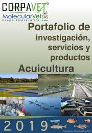 PORTAFOLIO DE SERVICIOS 2019  ACUICULTURA 28-12-2018w