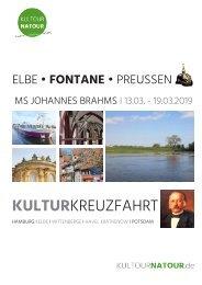 KULTURKREUZFAHRT • ELBE I FONTANE I PREUSSEN