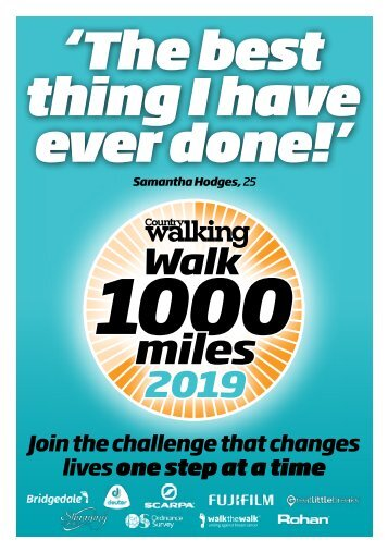 WALK 1000 supplement