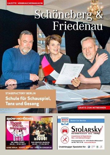Gazette Schöneberg & Friedenau Januar 2019