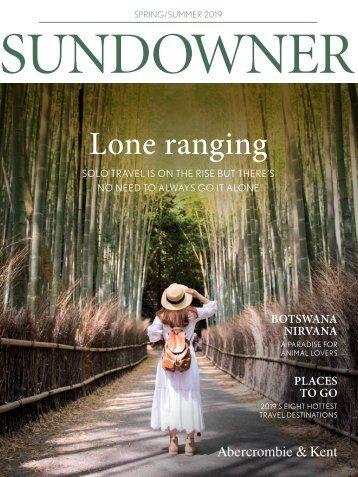 Sundowner Spring Summer 2019