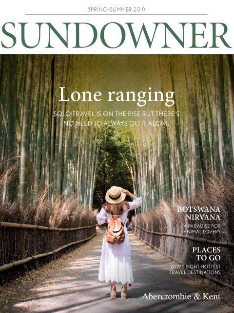 Sundowner: Spring/Summer 2019