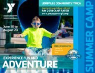 Summer Camp 2019 at Lionville Community YMCA