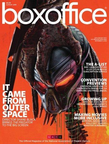 Boxoffice - August 2018