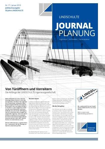 "LINDSCHULTE-Kundenzeitung ""Journal Planung"" 17/2018"
