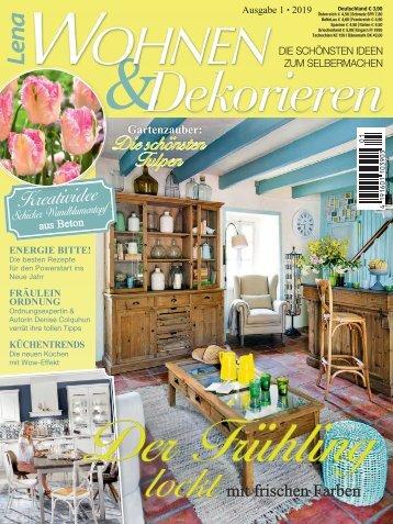 Lena Wohnen & Dekorieren Nr. 1/2019