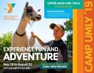 Summer Camp 2019 at Upper Main Line YMCA