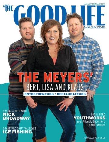 The Good Life Men's Magazine - January/February 2019