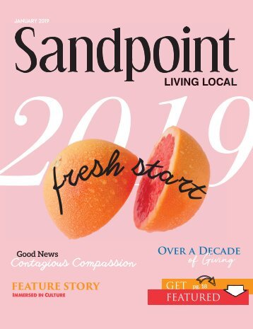 January 2019 Sandpoint Living Local