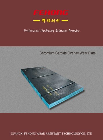 Chrome carbide wear plate
