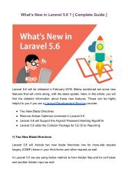 What's New in Laravel 5.6 _ [ Complete Guide ] (2)