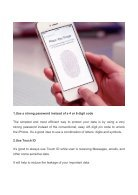 10 Tips to Secure your Iphone Even 10 Tips to Secure your Iphone Even More_ #8 is Risky Enough to Ignore - Page 2