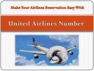 United Airlines Phone Number | Customer Service Toll Free