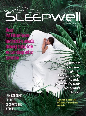 SleepWell Magazine January - February 2019