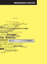 Ammen - Theater Heidelberg