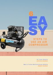 6 Easy Steps to Use an Air Compressor