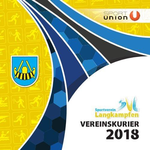 Sportverein Langkampfen Vereinskurier 2018