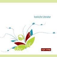 Iranische Literatur Vorschau 2018