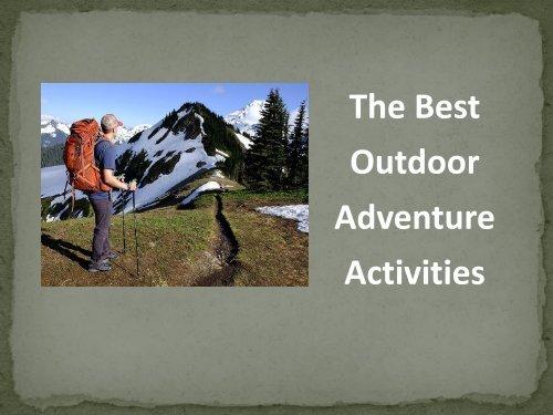 Action Adventure Activities Jackson