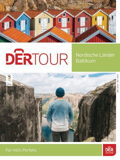 Nordische Länder, Baltikum. Dertour, Sommer 2019