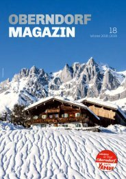 Oberndorf Magazin 18 – Winter 2018|2019