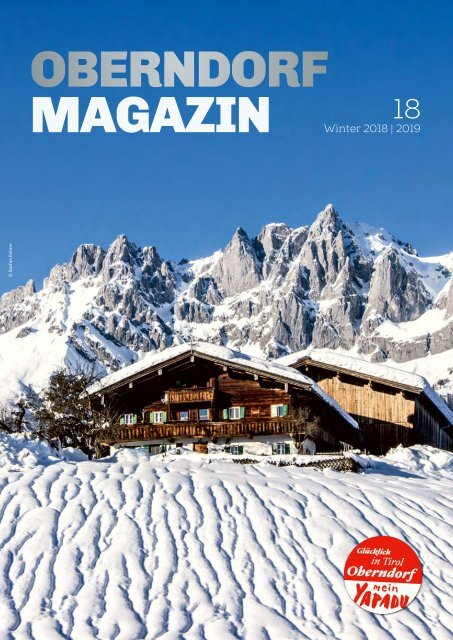 Oberndorf Magazin 18 – Winter 2018|2019