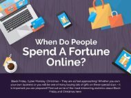 When do People Spend a Fortune Online