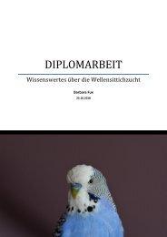 Diplomarbeit - Wellensittichzucht PDF