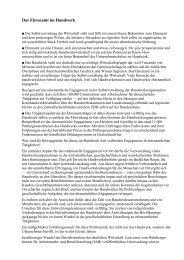 als PDF nachzulesen - Kreishandwerkerschaft Landsberg am Lech