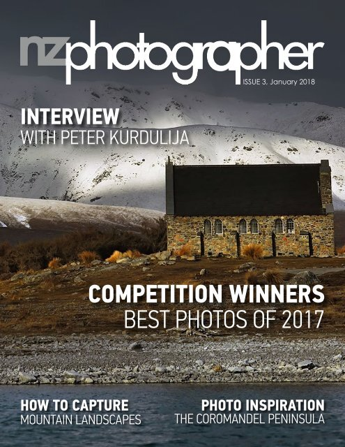 NZPhotographer Issue 3, January 2018