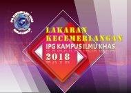 LAKARAN KECEMERLANGAN IPGK ILMU KHAS 2018