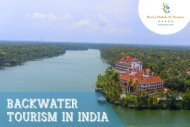 backwater tourism in india - backwater destinations in kerala