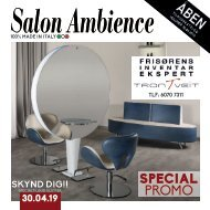 Salon Ambience fra TRONTVEIT