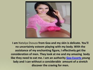 Independent Goa Escorts Service Girl